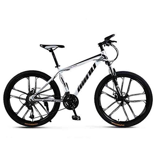 SOAR Mountain Bike Biciclette Mountain Bike for Adulti MTB Luce Strada Biciclette for Uomini e Donne 24/26 Pollice Ruote Regolabile velocità Doppio Freno a Disco
