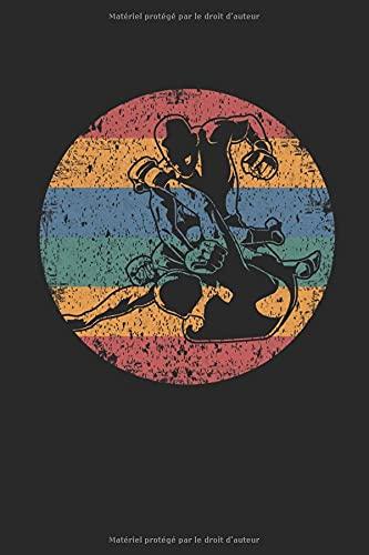 Logo rétro MMA: Cahier de cadeaux...