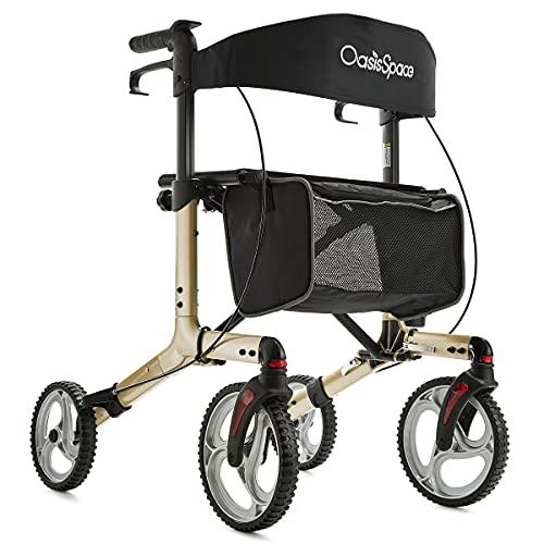 OasisSpace Aluminum Rollator Walker