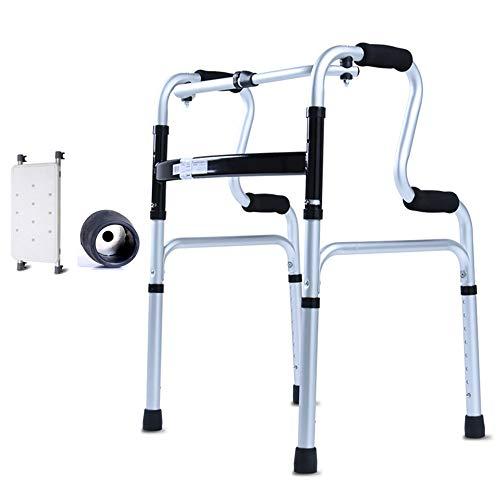 ZYDSD Andador Ayuda para caminar multifuncional para personas mayores Asistencia para caminar asistida Muletas Equipos de entrenamiento de rehabilitación Ancianos muletas andador Senior Apartment Nurs