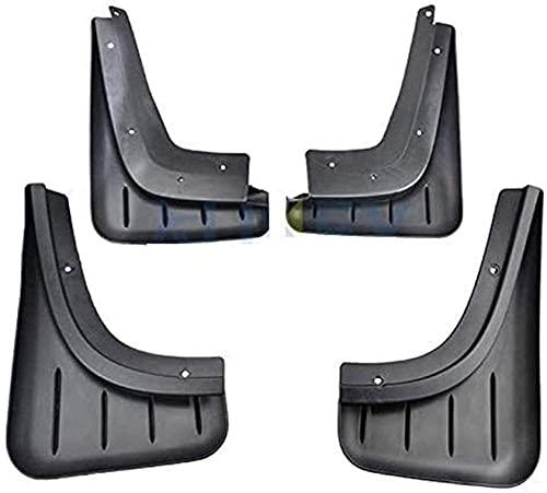 4 Piezas Faldillas antibarro para Porsche Macan 2014 2015 2016 2017 2018 2019, Delantero Trasero contra Salpicaduras Mud Flaps Car Protección Accessories