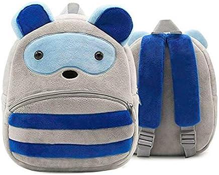 Frantic Soft Recon Velvet Plush Bag for Children (Grey)