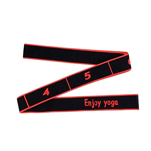 Lumanby Yoga Stretch Band Tension Resistance Band Elastic Band Tension Band for Gymnastics Workout 35.43 x 0.09inch.
