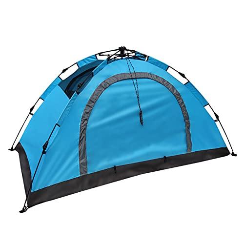 Tienda de mochilero Impermeable,Fácil Montaje, Compacta, Ligera Ideal para Acampada, Senderismo, Excursionismo, Camping,Blue