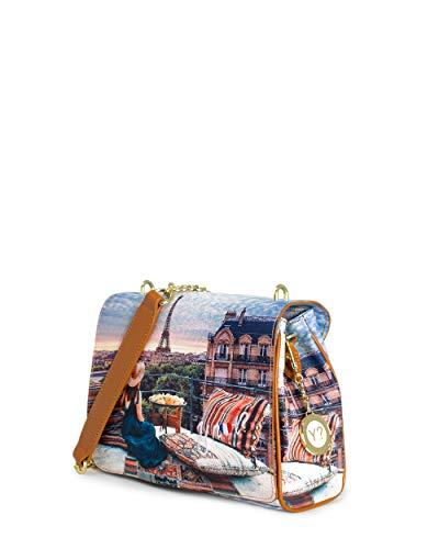 Borsa Donna Y NOT? flap bag with handle yes-429s0 unica parigi