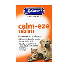 Johnsons Calm-Eze Tablets for Cats & Dogs 30g – 36 Capsules