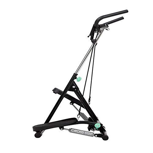 ALYHYB Vertical Mejorado Paso a Paso, Paso a Paso Plegable for el Gimnasio en casa, Pedal Escalada Máquinas de Ejercicios, Altura Ajustable, con Pantalla LCD huangcui