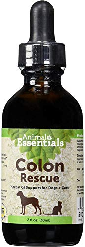 Animal Essentials Colon Rescue Herbal GI Support for Dogs & Cats, 2 fl oz | Phytomucil Blend...