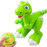 DX DA XIN Interactive Robot Dinosaur,Dancing Music Walking Spraying Mist Out of his Mouth Remote...