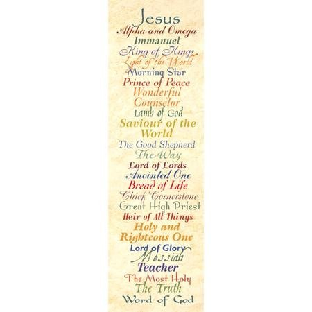 Names of Jesus Bookmarks (25)