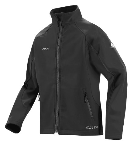 VAUDE Kinder Jacke Youth Cyclone Jacket, black, 116, 06466_010