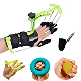 BodyMoves Finger Hand Training Device Recovery Equipment New 2020 Design for Stroke Hemiplegia with Grip Power Strengthener Exerciser Workout Guitar Fingers orthosis Correction Prevention Activities