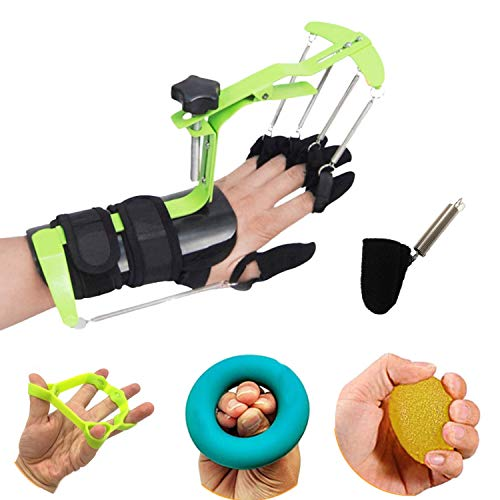 hand exercise equipment BodyMoves Finger Hand Training Device Recovery Equipment New 2020 Design for Stroke Hemiplegia with Grip Power Strengthener Exerciser Workout Guitar Fingers orthosis Correction Prevention Activities