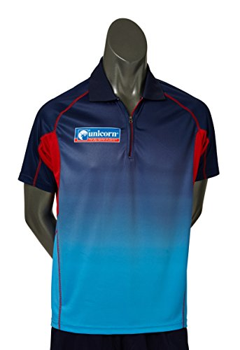 Unicorn Dartpfeil Men\'s Shirt Pro, Mehrfarbig, 43-46 cm/X-Large