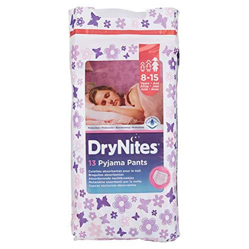 Huggies DryNites, 13Höschen für die Nacht Mädchen 8–15Jahre (27–57kg)