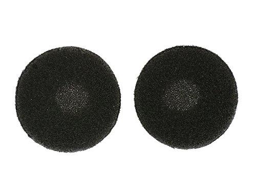 Wewom 20 stuks. Vervangende schuimrubberen oorkussens voor in-ear koptelefoon, 18 mm zwart QS160254