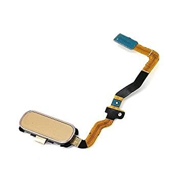 E-REPAIR Home Button Finger Touch Sensor Key Flex Cable Replacement Kit for Samsung Galaxy S7 G930  Gold