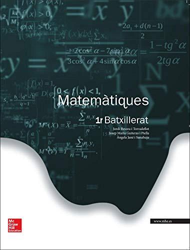Matemàtiques. Batxillerat 1 - Edició 2015 - 9788448196042