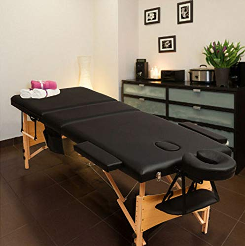 Fold Portable Massage Table with disposable table covers treatment physical therapy 84'L 3