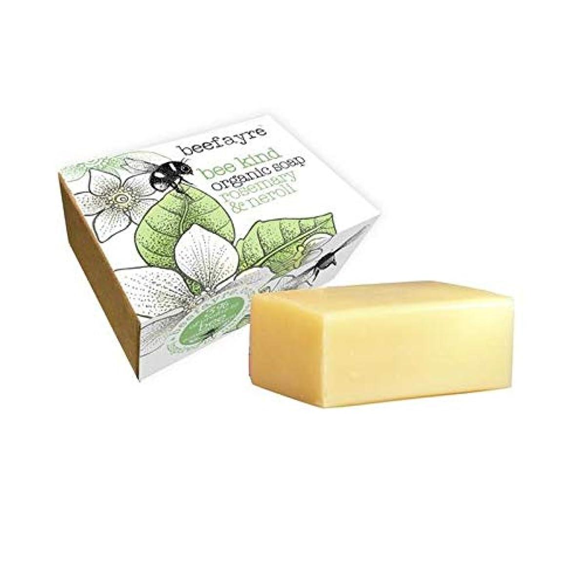 ワイドジャニスロッカー[Beefayre] 有機ローズマリー&ネロリソープバー100グラムBeefayre - Beefayre Organic Rosemary & Neroli Soap Bar 100g [並行輸入品]