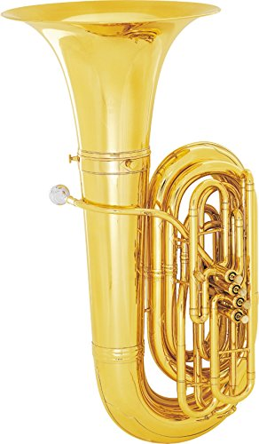 King 2341W Series 4-Valve 4/4 BBb Tuba (2341W Lacquer With Case)