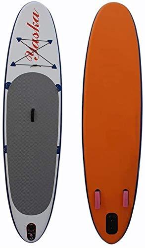 FANLIU Stand-up Junta de Aguas 6 Pulgadas de Espesor Inflable Stand Up Paddle Board Conjunto con Triple Aletas for Surf Control