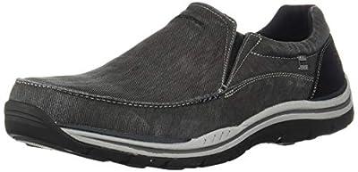Skechers Men's Expected Avillo Relaxed-Fit Slip-On Loafer,Black,9 M US