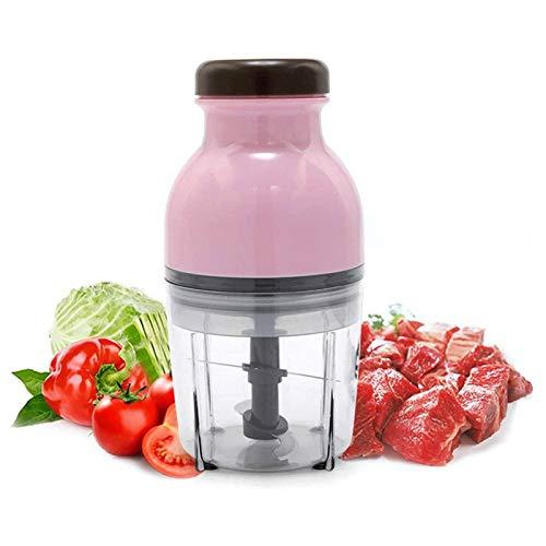 YFGQBCP Cocina doméstica Multifunción Pequeña Carne Molinillo de Carne suplemento alimenticio Mezclador Mini máquina de Relleno eléctrico