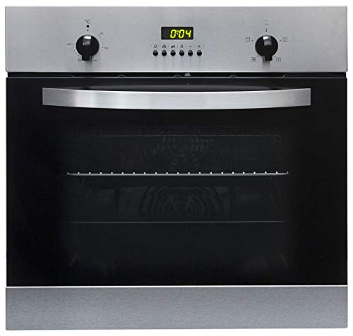 SIA SO112SS 60cm Stainless Steel Built in Digital Single Electric True...