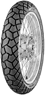 Continental TKC70 Dual Sport Front Motorcycle Tire 110/80R-19 (59V) for Suzuki V-Strom 1000 (ABS) Adventure DL1000ADV 2014-2016