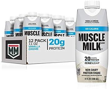 12-Pack Muscle Milk 100 Calorie Vanilla Protein Shake, 11 Fl Oz