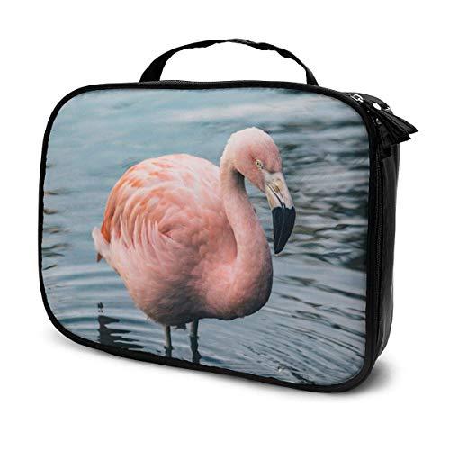 Multi Forest Art Reise Make-up Bag Organizer, große Kapazität tragbare abnehmbare Trennwände Make-up Zug Fall Lagerung Mehrzweck-Tasche Geschenk für G.