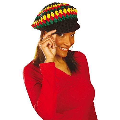 NET TOYS Bonnet Reggae Rasta Chapeau à Larges Bords Bonnets africains Bonnet Rasta Bonnet Reggae Rasta Jamaïque Carnaval Bonnet tricoté