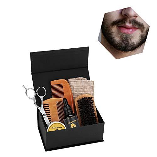 Broodolie Balsem Baard Plastic Groei Hydraterende Gladde Schoonheid Reparatie Tool - Perfecte baardverzorgingsset voor mannen