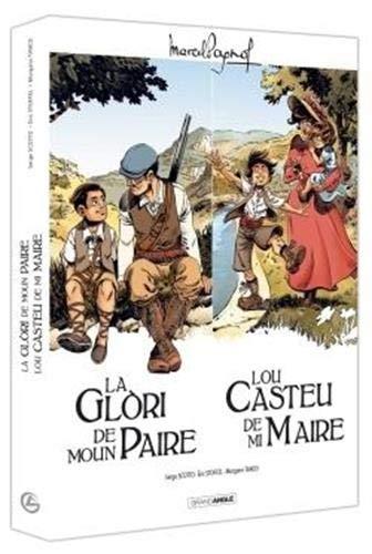 Coffret Marcel Pagnol : Coffret en 2 volumes : La glori de moun paire ; Lou castèu de ma maire