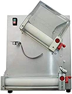 CHEF PROSENTIALS 110 Volt Electric dough roller Commercial 18 inch 2 rollers dough sheeter machine Automatic Stainless steel dough press machine pasta maker wholesales