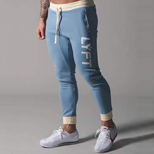 None/Brand Men's Jogging Pants Sports Pants Trousers Men's Fitness Training Cotton Jogging Pants Fashion Training Casual Trousers