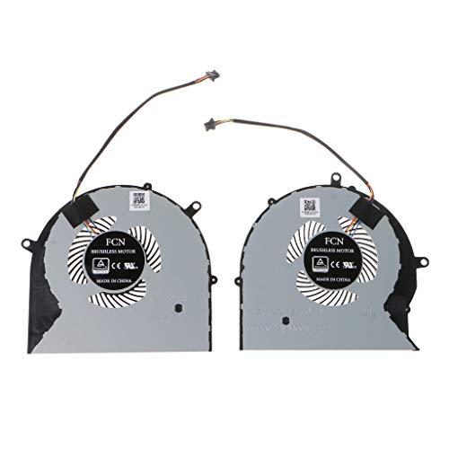1Pair CPU GPU Cooling Fan Cooler for FX63V FX63VM FZ63VM FX63VM7300 Laptop, Gpu CPU Cooling Fan Cooler