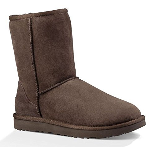 UGG Women's Classic Short II Winter Boot, Chocolate, 5 M US