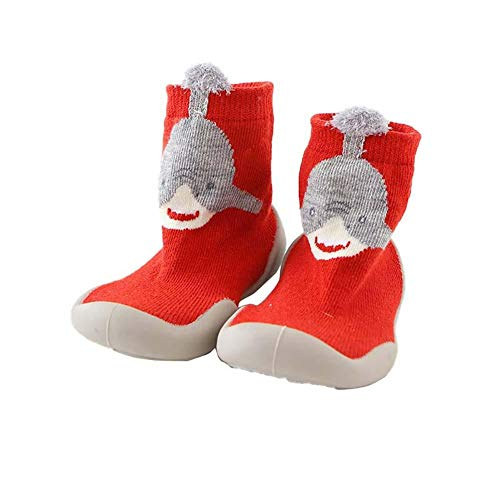 Leisial Zapatos para Pequeños Antideslizante - Calcetines de Piso para Niños Bebé Niña...