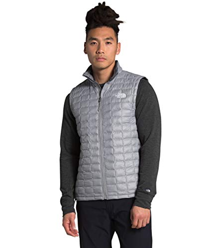 The North Face Men's ThermoBall Eco Vest, Mid Grey Matte, L