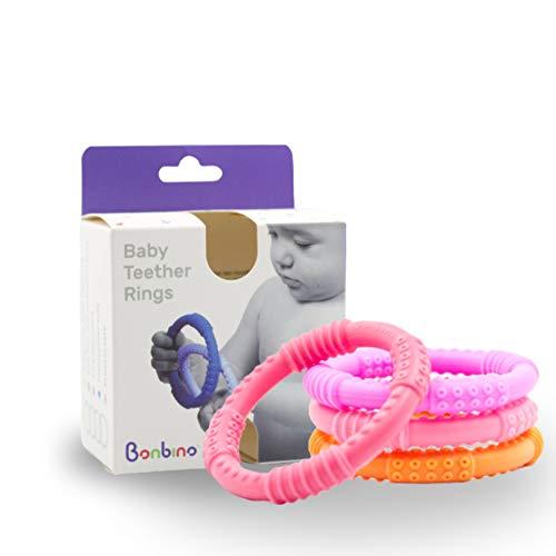 Bonbino - Confezione da 4 massaggiagengive in...