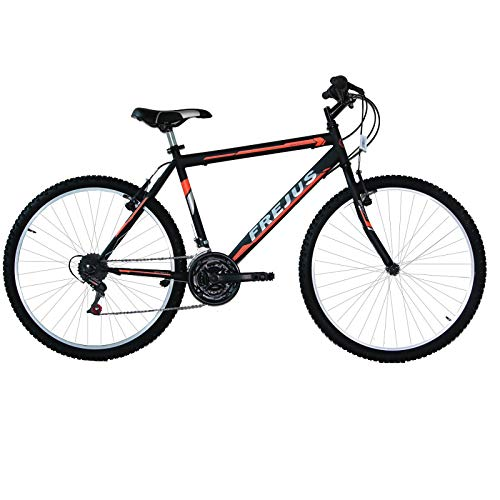 MASCIAGHI Bicicletta 24' Uomo MTB FREJUS 18VELOCITA' Nero/Arancio