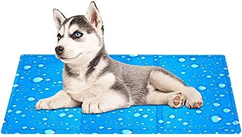 Koelmat Voor Honden Koelmat Voor Huisdieren, Zelfkoelende Hondenmat Koelmat Voor Hond Koelmat Voor Honden Pet Ice Mat Pet Pad Voor Kratten, Kennels en Bedden,A-XL