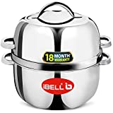 IBELL AF23B 2.3 Liters 1200W Crispy Air Fryer With Smart Rapid Air Technology, Timer Function & Fully Adjustable Temperature Control, Black