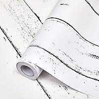 EASYLEE 壁紙シール 45cm×10m 木目調 ストーン 3D立体「風」 壁紙シール ウォールステッカー 白メープル木柄 ホワイト はがせるタイプ リフォーム ウォールステッカー 防水 リフォーム DIY (北欧楓の木)
