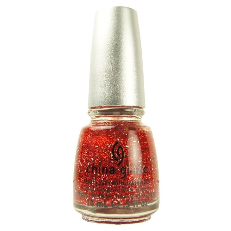 リットル天窓さらに(6 Pack) CHINA GLAZE Glitter Nail Lacquer with Nail Hardner - Love Marilyn (DC) (並行輸入品)