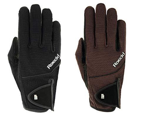 Roeckl Sports Handschuh Modell Milano, Unisex Reithandschuh, schwarz, 8