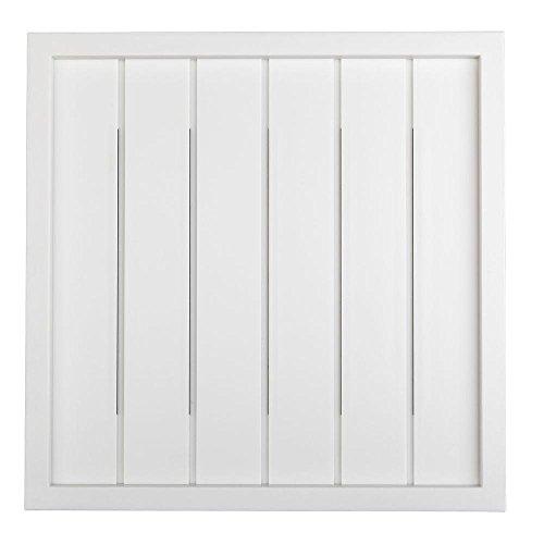 Hampton Bay - Wireless or Wired Door Bell, White Bead Board