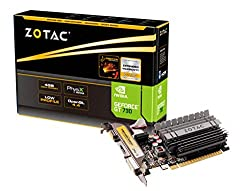 in budget affordable ZOTAC GeForce GT 730 Zone Edition 4 GB DDR3 PCI Express 2.0 x16 (x8 track) graphics card…